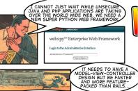 web2py Enterprise Web Framework